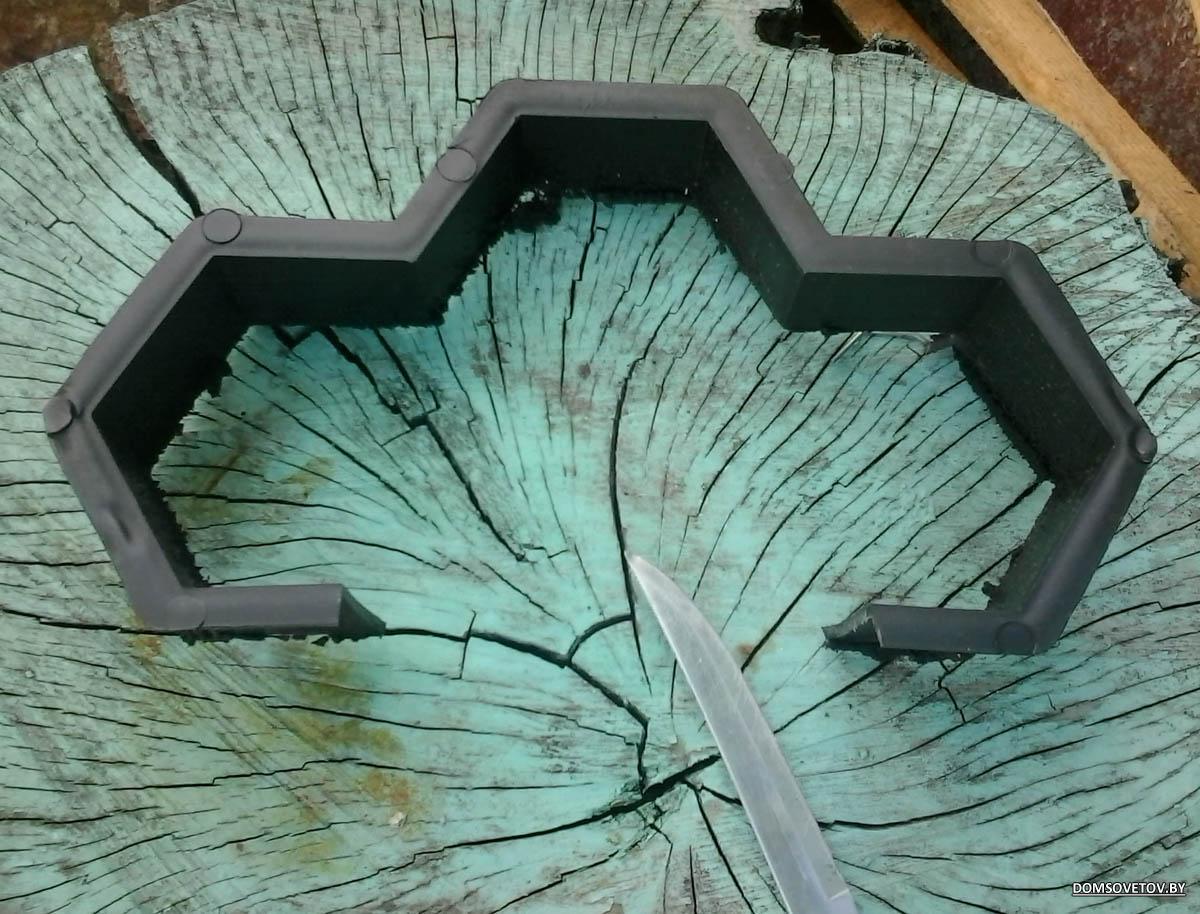 Штампы для бетона своими руками - Только ремонт своими руками в квартире 17