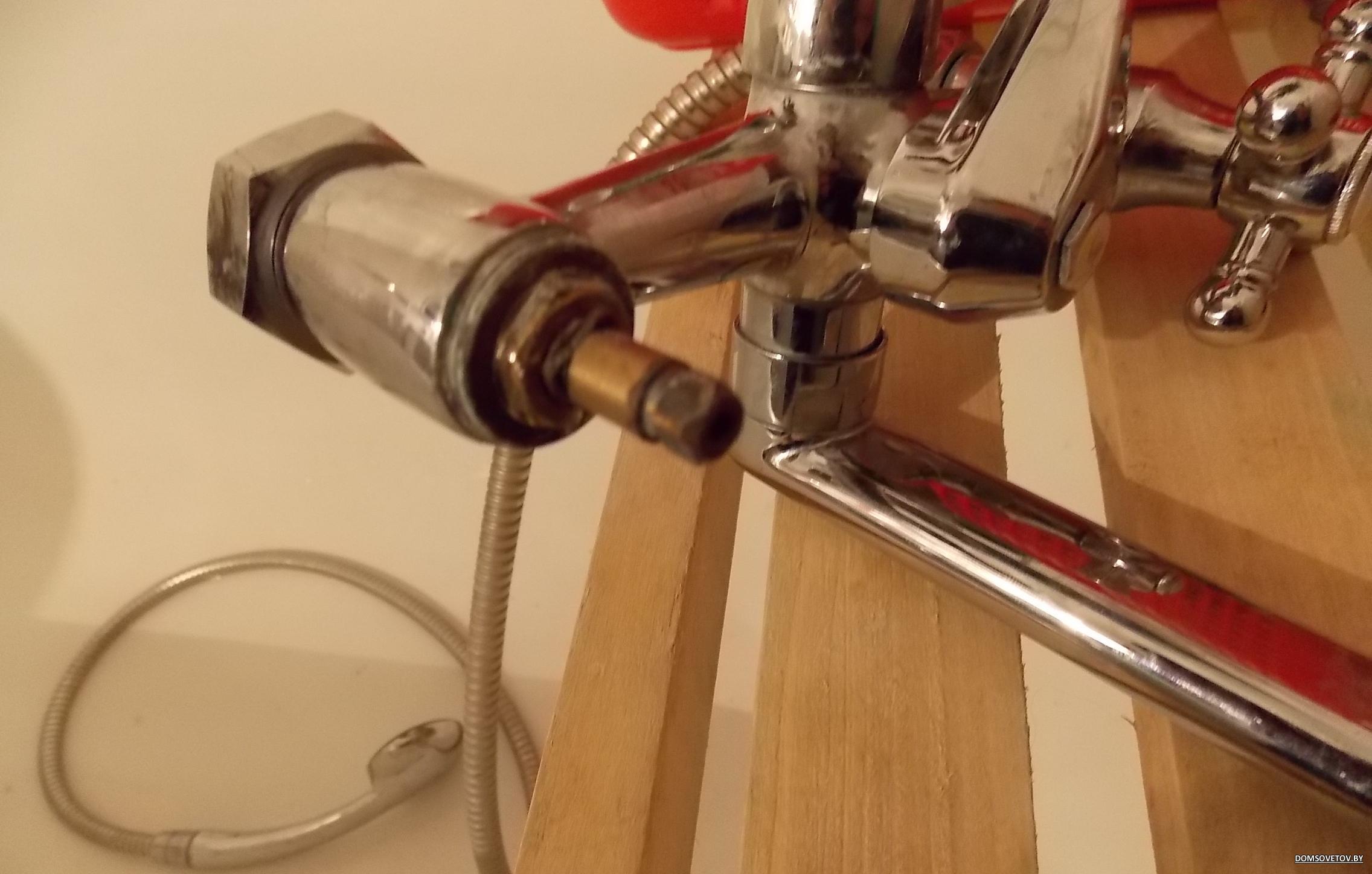 Как починить смеситель