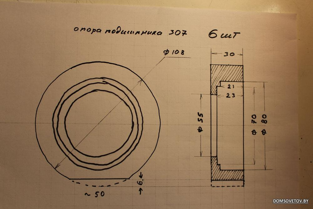 Трубогиб своими руками и чертежи 176