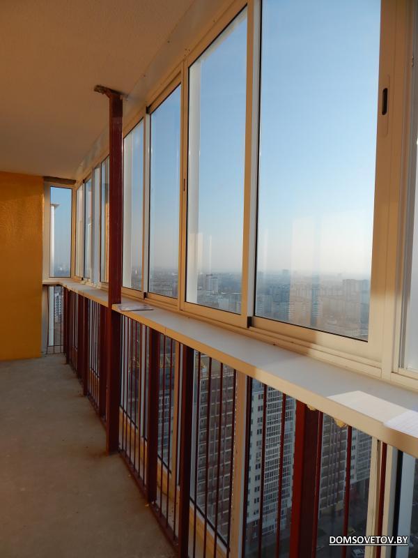 Балконный блок в серии м 111. - оригинальные балконы - катал.